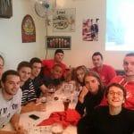 Les entraineurs bénévoles du Baby-Athlé du Castres Athlétisme ont tous mangé CH'TI en fin de saison !