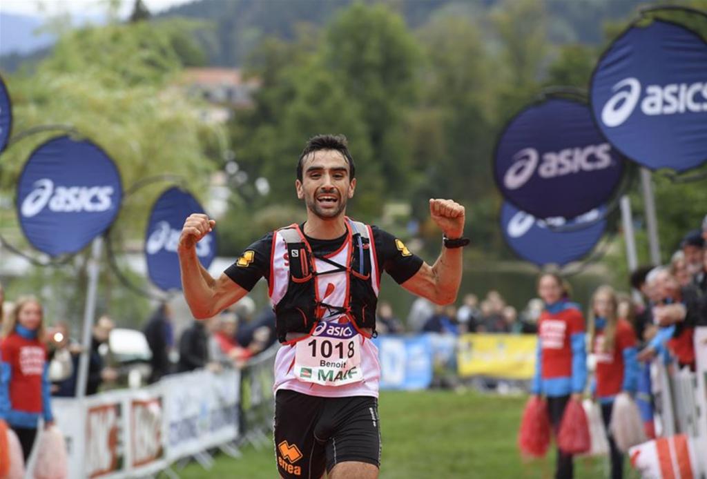 Benoit Galand devient vice-champion de France de trail court 2017 à Gérardmer
