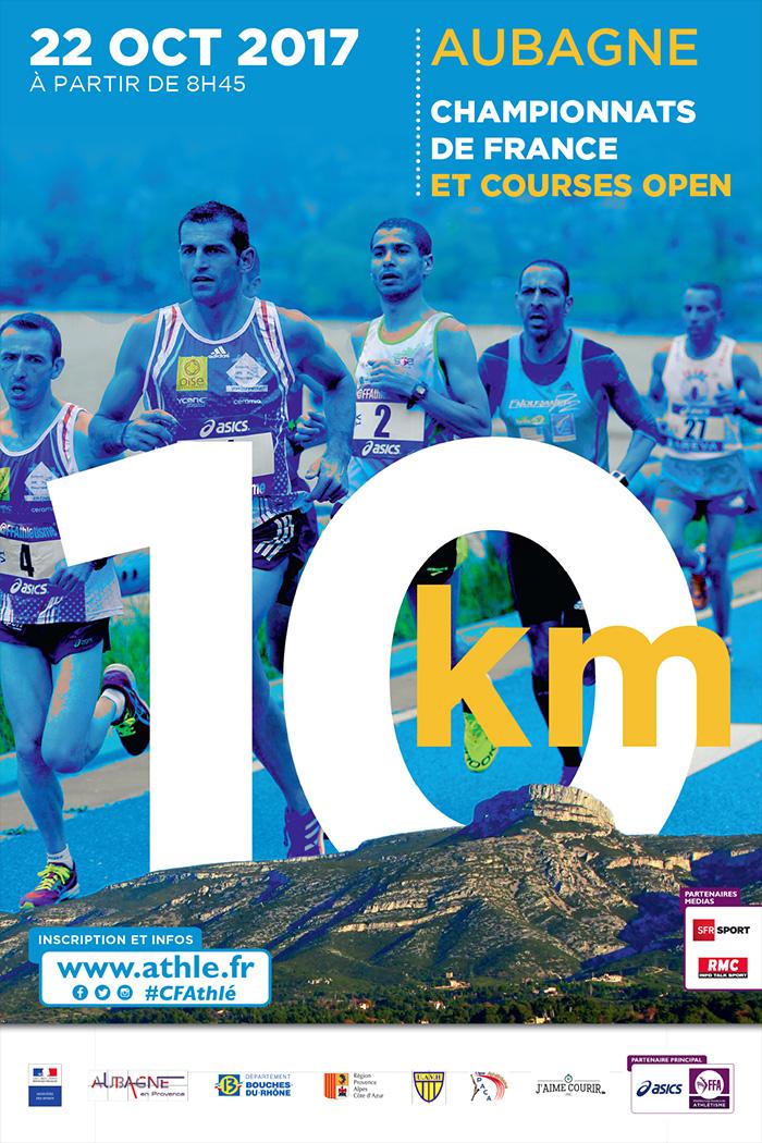 Championnats de France de 10km 2017