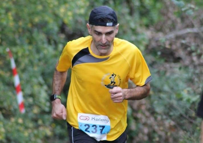 David Velasco sur le 12km du Trail de Labruguière 2017