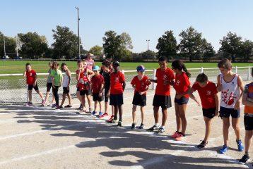Départ du 1000m au meeting poussins 2017 à Lavaur
