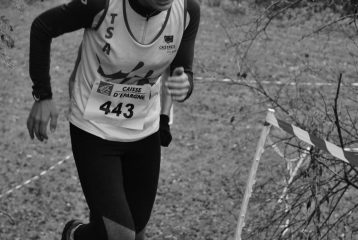 Célia Nunes au cross de Payrin 2017