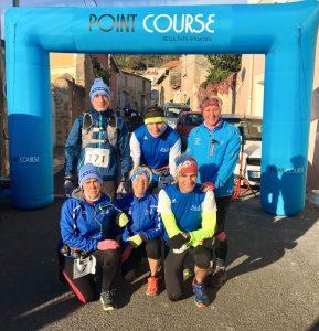 L'AC Lacaune au trail de Nébian 2017