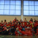 Entrainement du groupe baby Athlé du Castres Athlétisme 2016-2017