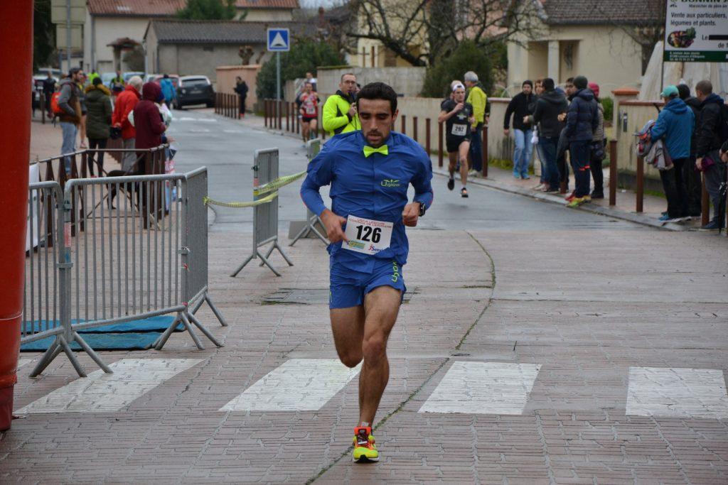 Benoit Galand au 10km de la Corrida de l'Épiphanie 2018 à Lescure-d'Albigeois