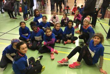 Le Castres Athlétisme au cross de la 3ème journée du Trophée de l'Avenir 2018