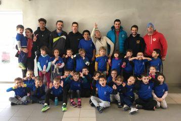 Entrainement du groupe baby Athlé du Castres Athlétisme
