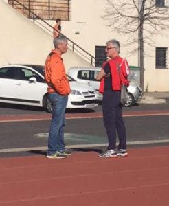 """Coach JP a profité du beau temps pour """"tchapper"""" avec les copains !"""