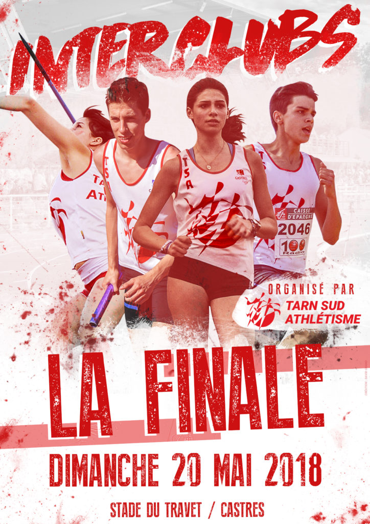 Affiche Finale Interclubs 2018