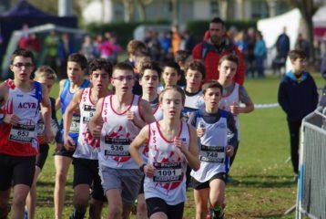 Les minimes du TSA aux championnats du secteur Ouest d'Occitanie de cross 2018 à Caussade