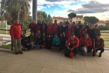 Le Castres Athlétisme au Grand Prix hivernal des benjamins-minimes 2018 à Bompas