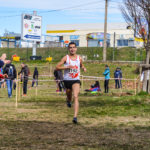 Flavien Szot vainqueur de la course des cadets aux championnats d'Occitanie de cross 2018 à Alès