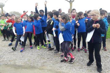 Les Éveils Athlé du Castres Athlétisme à la 5ème journée du Trophée de l'Avenir à Vielmur