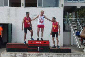 Patrice Vieu sacré champion d'Occitanie Master 2018 du 1500m à Nîmes