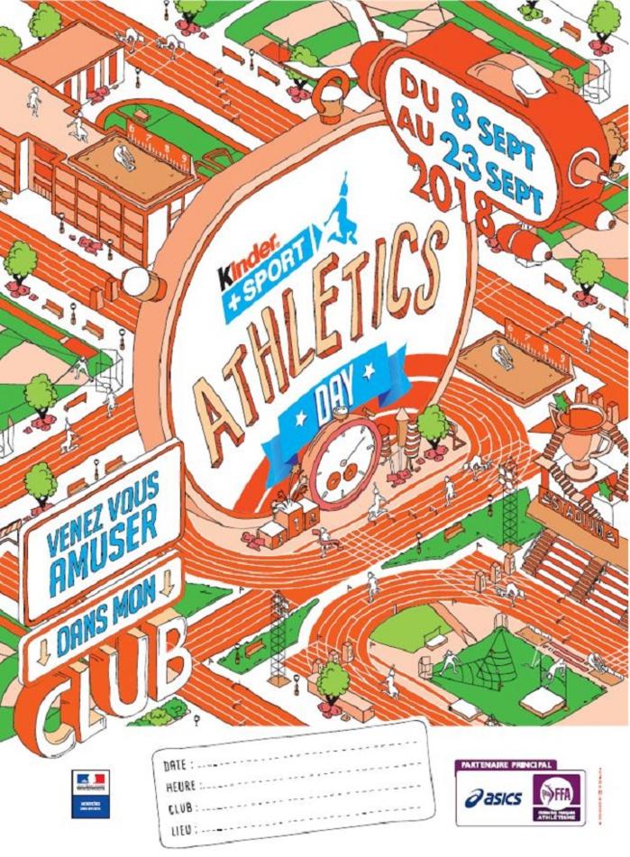 Kinder + Sport Athletics Day 2018 au Castres Athlétisme