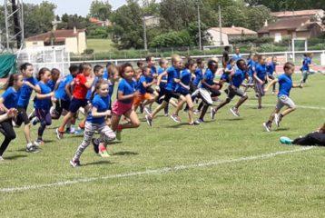 Les éveils athlé du Castres Athlétisme à la 6ème journée du Trophée de l'Avenir 2018 à Castres