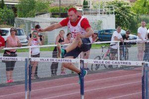 Tout en souplesse pour Florian Bouleau au 110m Haies de la finale interclubs 2018 à Castres