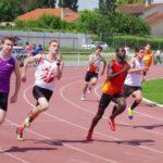 Vincent Ferré dans ses grands jours au 200m lors de la finale interclubs 2018 à Castres