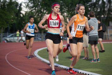 Alexia Vaissette sur 1500m au meeting Colette Besson 2018 à Muret