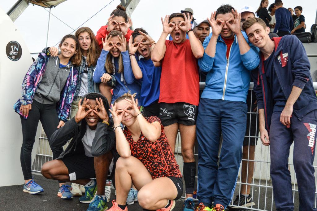 Les fous du TSA aux championnats du secteur ouest d'Occitanie sur piste 2018 à Tournefeuille