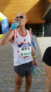 Frédéric Clauss aux championnats de France de 10km 2018 à Liévin