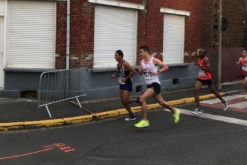 Jean-Baptiste Grand aux championnats de France de 10km 2018 à Liévin