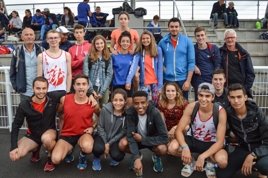 Le TSA aux championnats du secteur ouest d'Occitanie 2018 à Tournefeuille