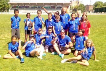 Le Castres Athlétisme aux interclubs poussins 2018 à Carmaux