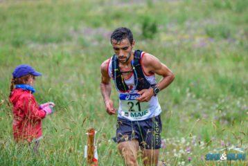 Benoit Galand aux championnats de France de trail court 2018 à Montgenèvre
