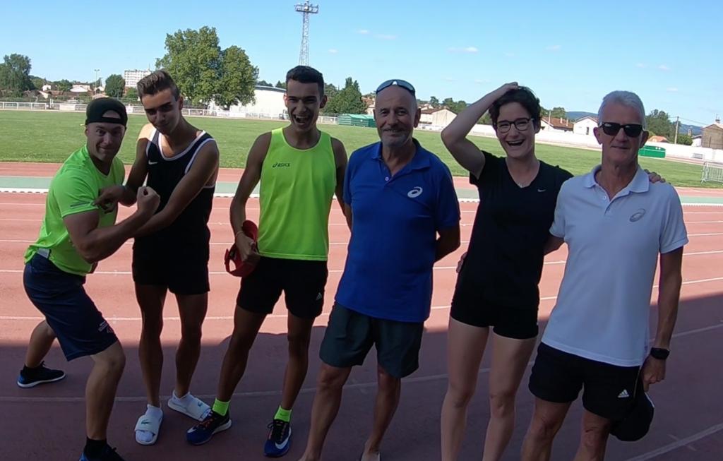 Dernier entrainement de préparation des France cadets-juniors 2018 à Castres