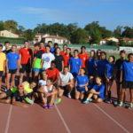 Athlètes des championnats du Travet 2018 à Castres