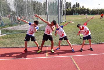 Les benjamins au challenge Équip'Athlé Automnal 2018 à Toulouse