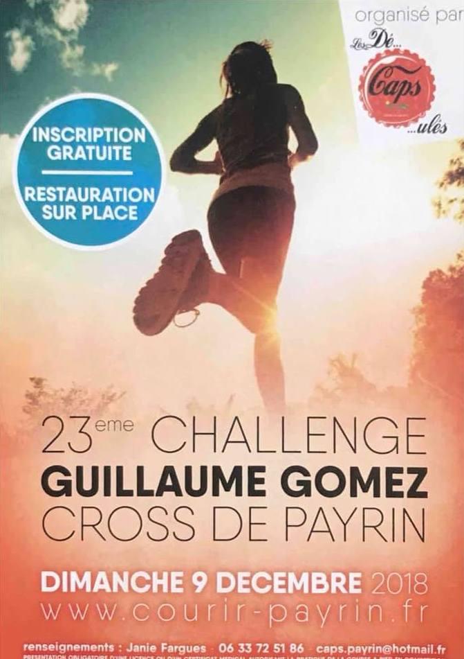 Cross Guillaume Gomez 2018