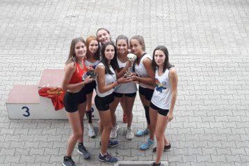 L'équipe des minimes féminins du Tarn au match interdépartemental 2018 à Toulouse