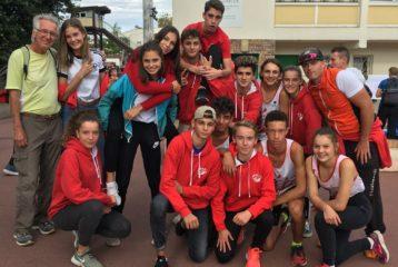 Les 2 équipes minimes du TSA à la Finale Nationale du Challenge Équip'Athlé 2018 à Dreux