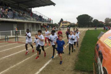 Poussins du Castres Athlétisme au meeting de rentrée des poussins 2018 à Lavaur
