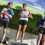 Flavien Szot vainqueur sur la course des juniors du cross Jean Vidal 2018 à Lescure-d'Albigeois