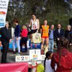 Alexia Vaissette vainqueur en espoir au cross de la Cité 2018 à Carcassonne