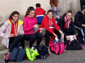 Les minimes et cadettes au cross de la Cité 2018 à Carcassonne