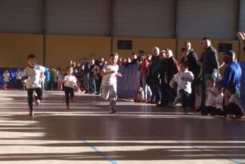 Sprint des éveils athlé à la 1ère journée du Trophée de l'Avenir 2019 à Sorèze