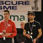 Flavien Szot et Benoit Galand sur le podium de Corrida de l'Epiphanie 2019 à Lescure-d'Albigeois