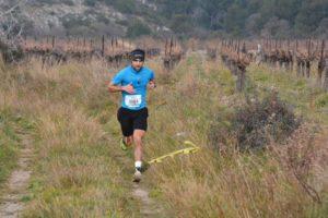 Benoit Galand au Gruissan Poli Trail 2019