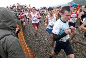 Guerric Mérimée et Axel Danieau aux championnats de France de cross 2019 à Vittel