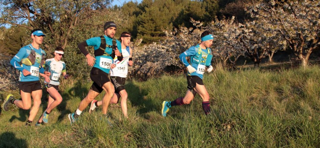 Benoit Galand au Trail de la Drôme 2019 à Buis-les-Baronnies