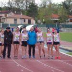 Départ du 800m féminin du meeting du Castres Athlétisme 2019