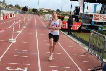 Marie Long au 10km du Marathon d'Albi 2019