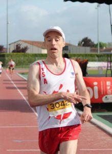 Philippe Terral au 10km du Marathon dAlbi 2019