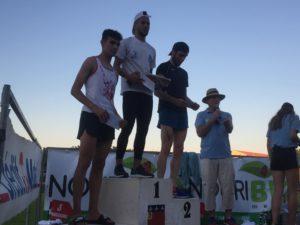 Flavien Szot sur le podium du 3000m du Meeting de Pézénas 2019