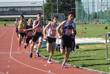 Sanydil HALHAL sur 800m aux championnats du secteur Ouest d'Occitanie sur piste 2019 à Toulouse