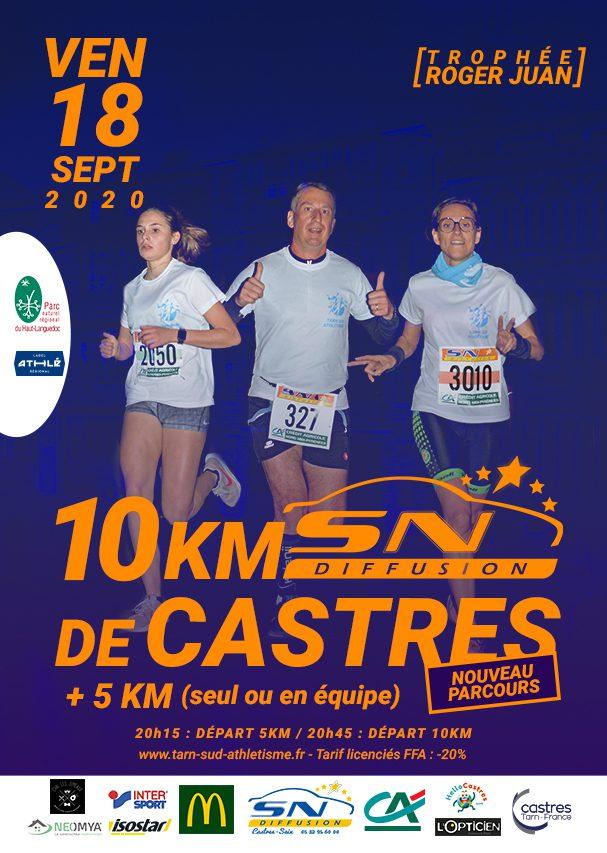 10 KM SN Diffusion de Castres 2020